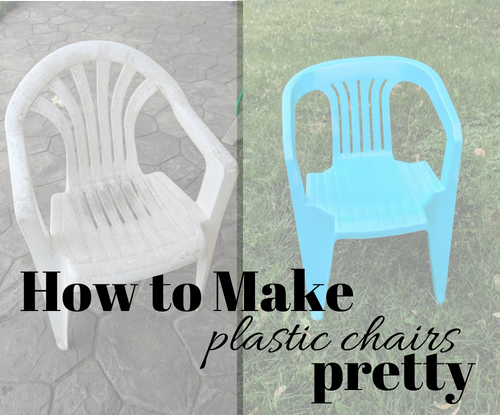 How to Make Plastic Chairs Pretty