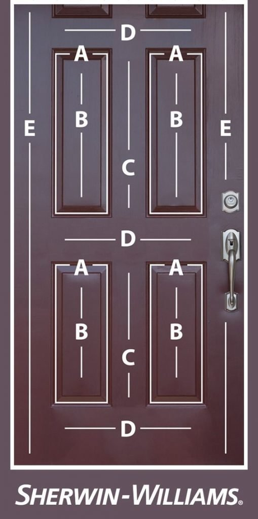 How To Paint Your Front Door The Easy Way Mama And More