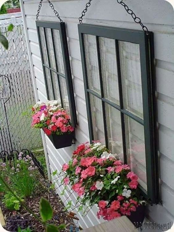 A creative idea for your ugly exterior!