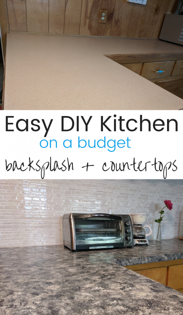 It's crazy how these easy DIY projects totally transform your kitchen! Perfect for our budget too