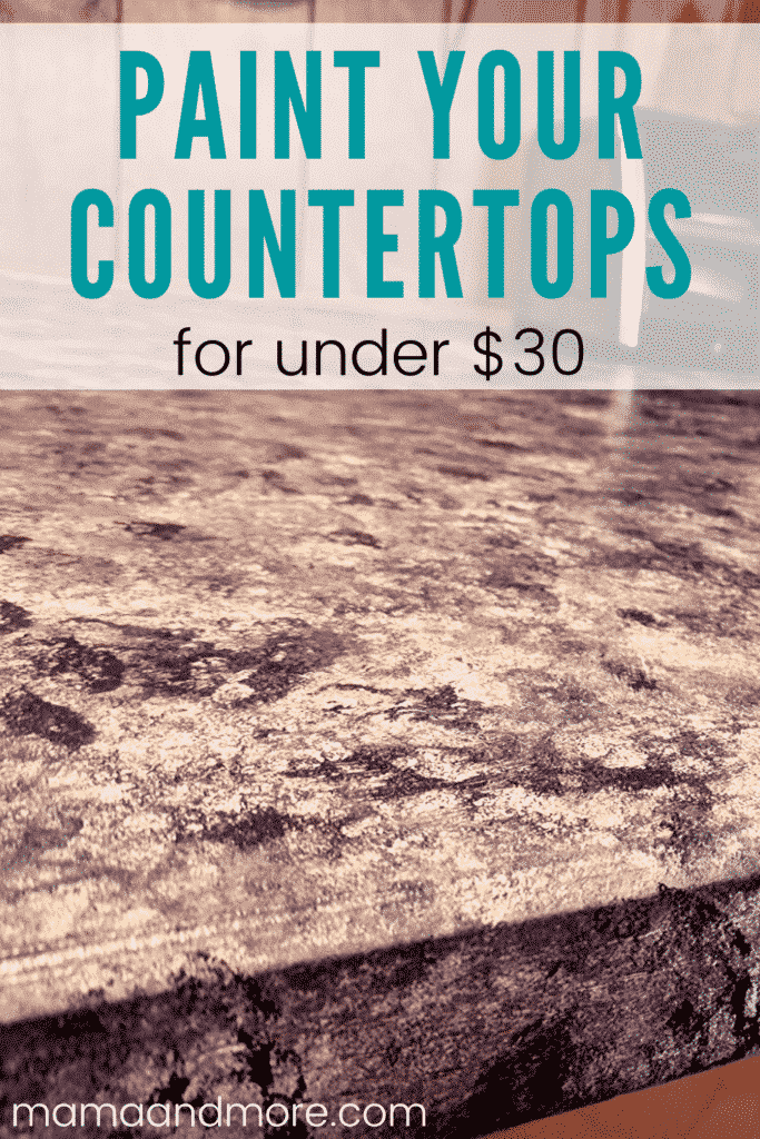 Paint countertops on a budget