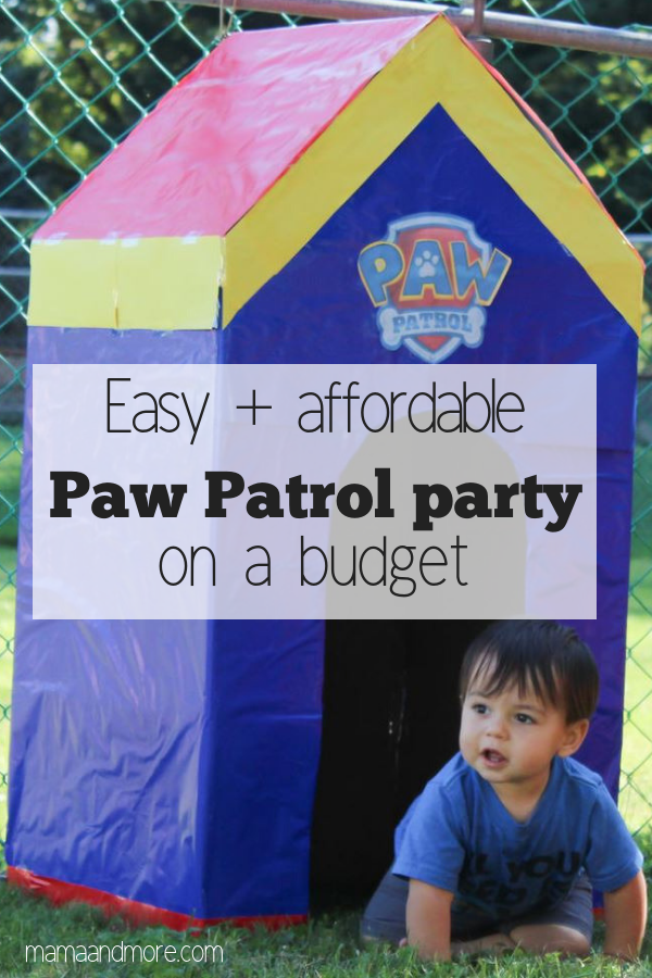 My Easy Paw Patrol Party On A Budget