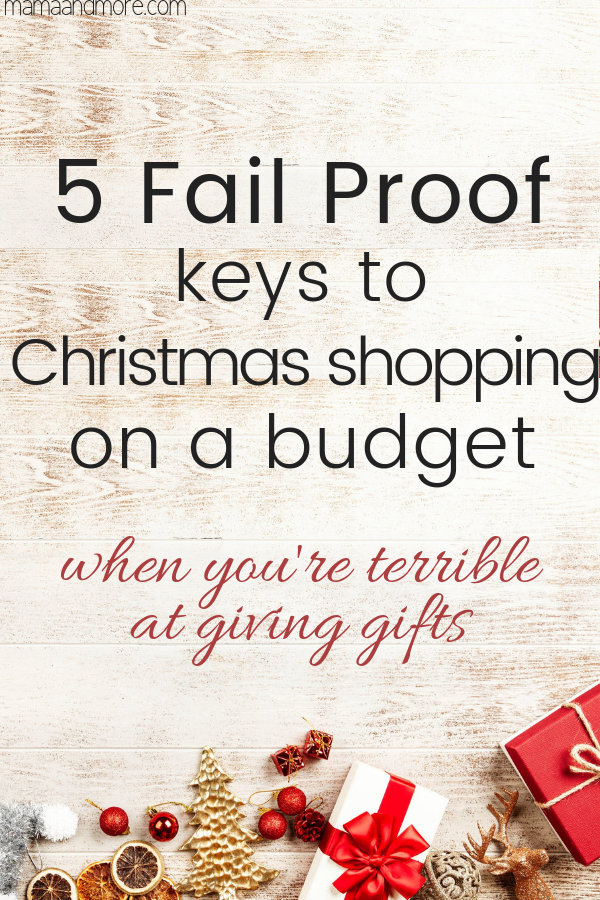 5 fail proof keys to shop for gifts on a budget