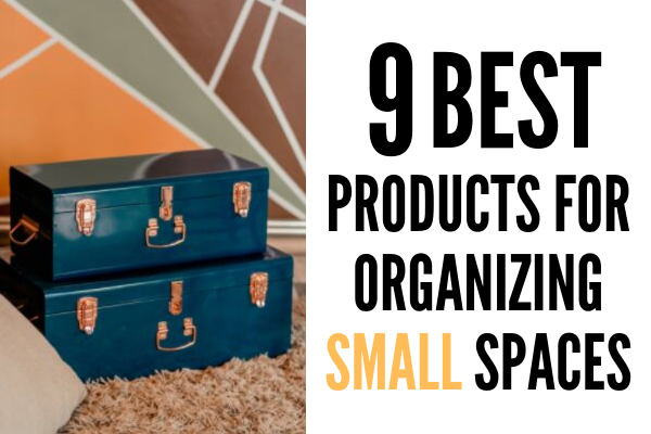The Top 9 Best Products for Organizing Small Spaces