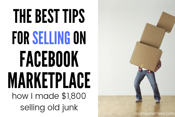 All The Best Tips for Selling on Facebook Marketplace