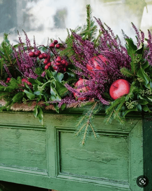 Fall window box ideas
