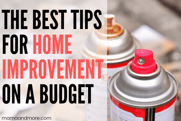 How to Do Home Improvement Projects on A Budget