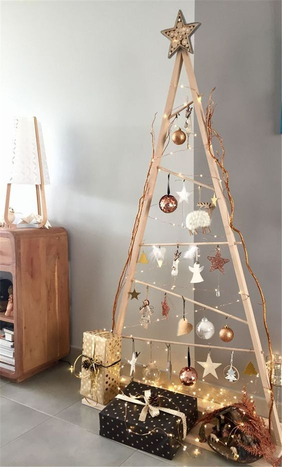Best Space Saving Christmas Tree Ideas