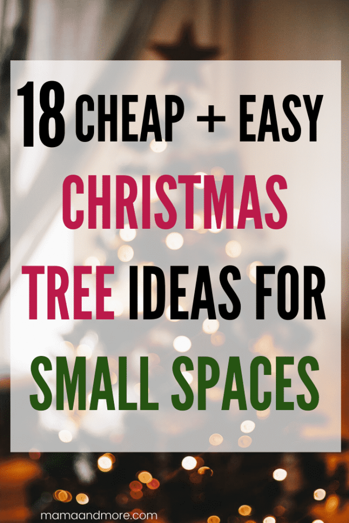 Best DIY Christmas Tree Ideas for Small Spaces