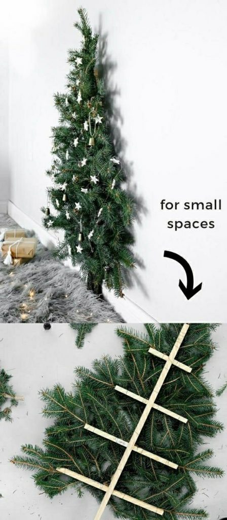 Best Unique Space-Saving Christmas Tree Ideas