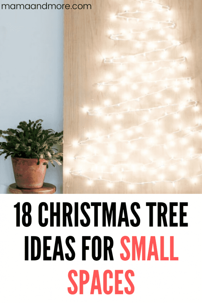 18 Christmas Tree Ideas for Small Spaces