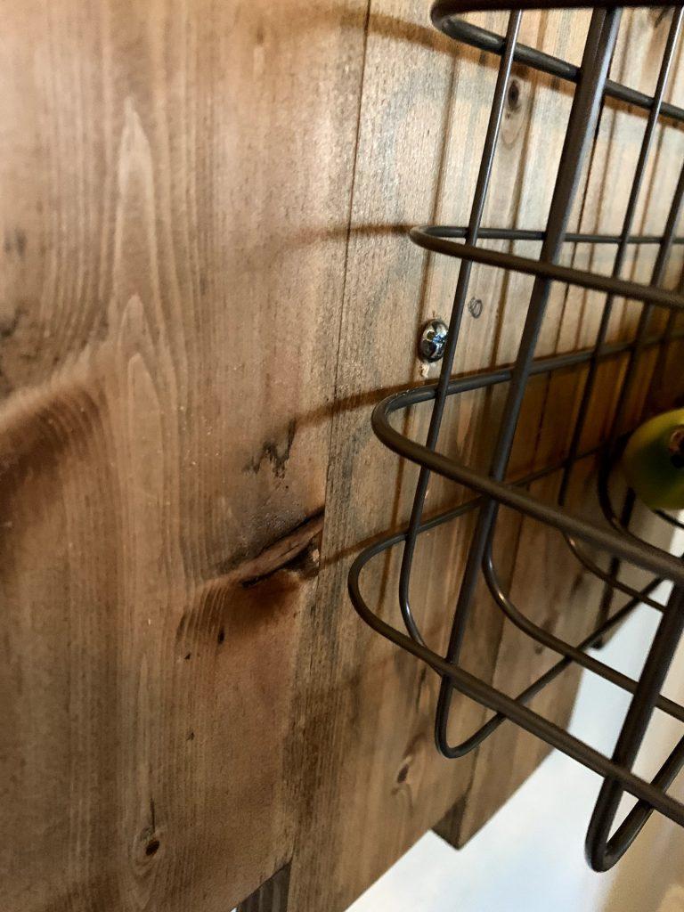 DIY Hanging Fruit Basket Tutorial