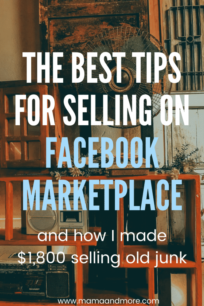 The best tips for selling on Facebook marketplace