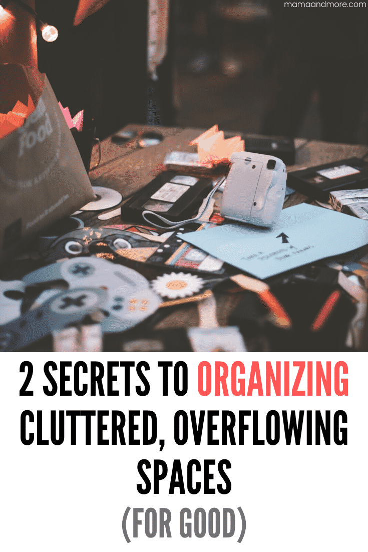 How to organize cluttered spaces
