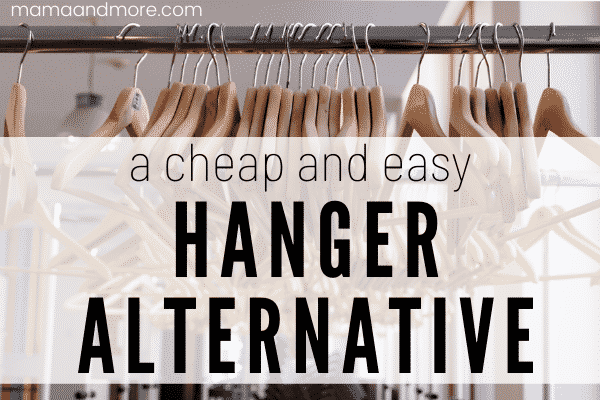 A Cheap and Easy Hanger Alternative