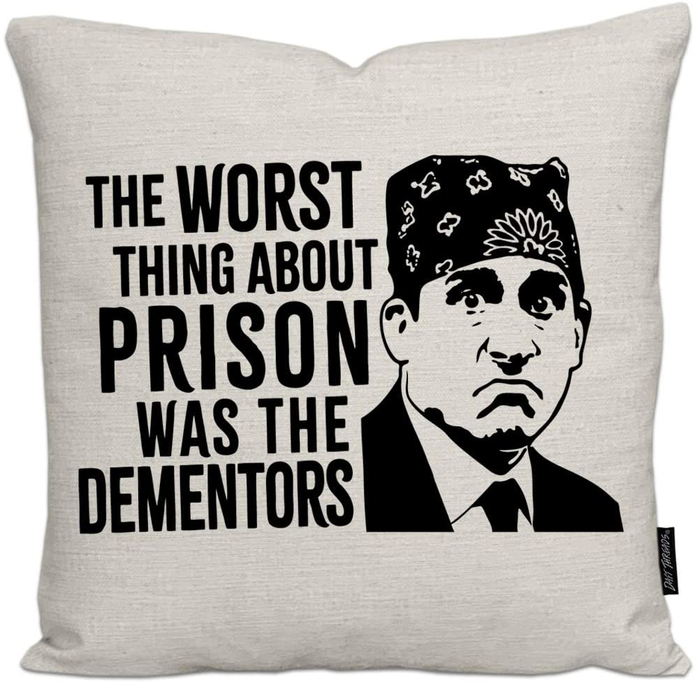 The worst thing about prison is the dementors (home decor)