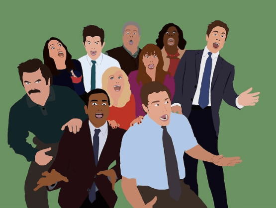 The best parks and rec show home decor