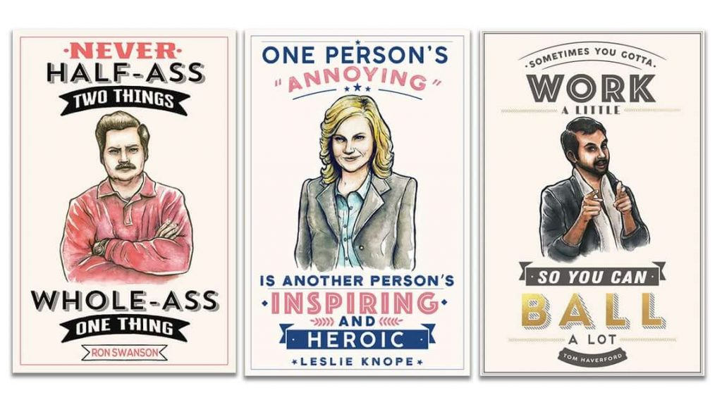 The best parks and recreation decor