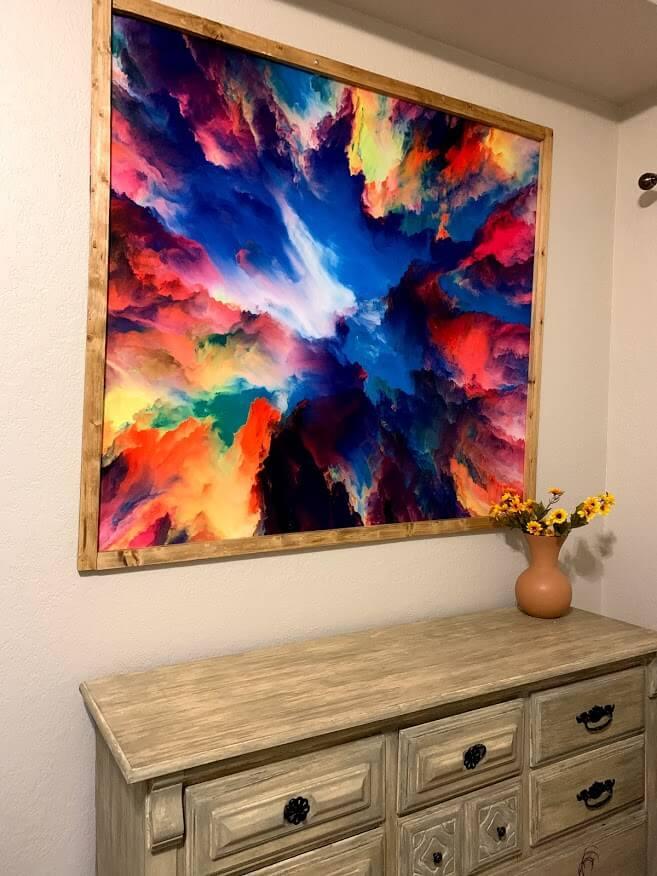 easy tapestry frame