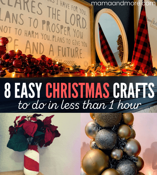 8 Easy Christmas Crafts You Can Do Today