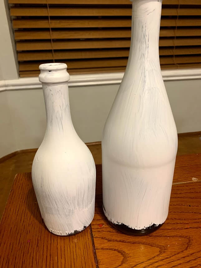 how to paint a vase with baking soda and without